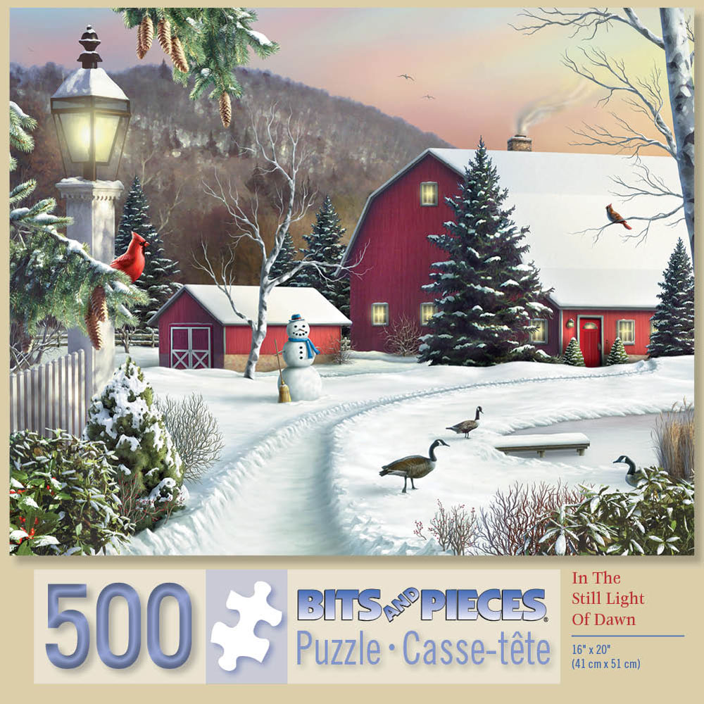 In the Still Light of Dawn 500 Piece Jigsaw Puzzle