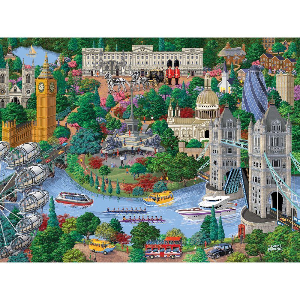 London 1000 Piece Jigsaw Puzzle