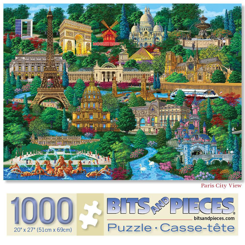 Paris 1000 Piece Jigsaw Puzzle
