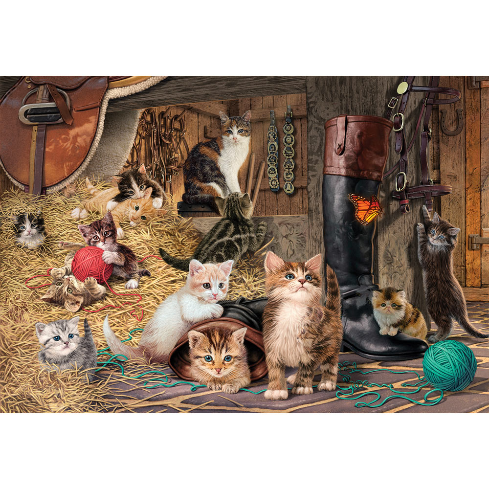 Kitten Capers 1000 Piece Jigsaw Puzzle