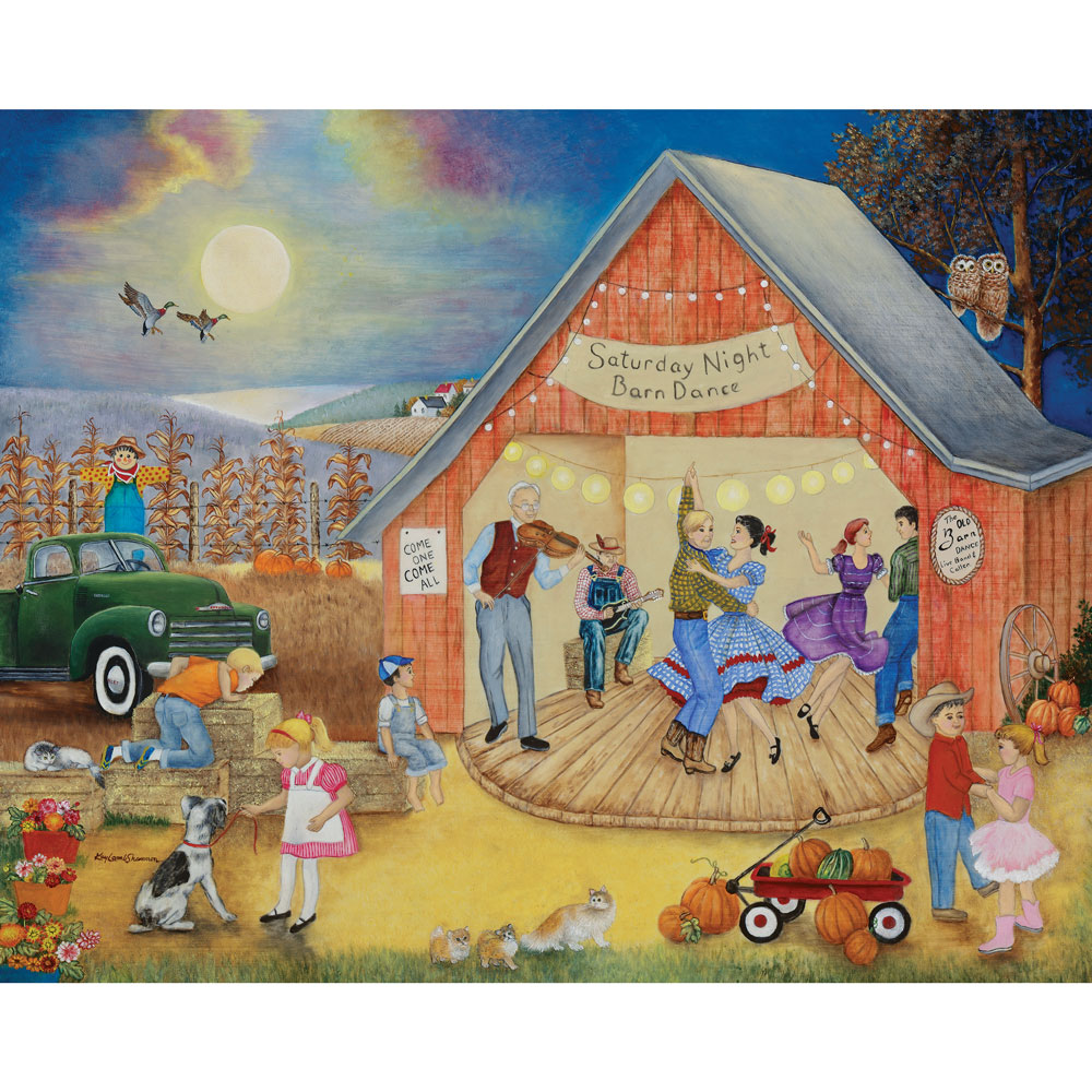 Friendly Folk 300 Large Piece 4-in-1 Multi-Pack Puzzle Set