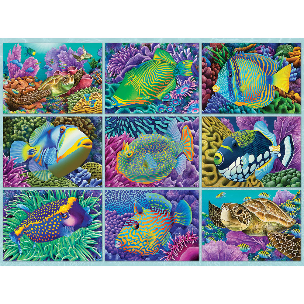Reef Dwellers 500 Piece Jigsaw Puzzle
