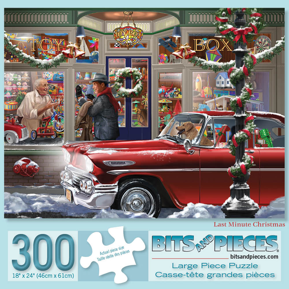 Last Minute Christmas 300 Large Piece Jigsaw Puzzle