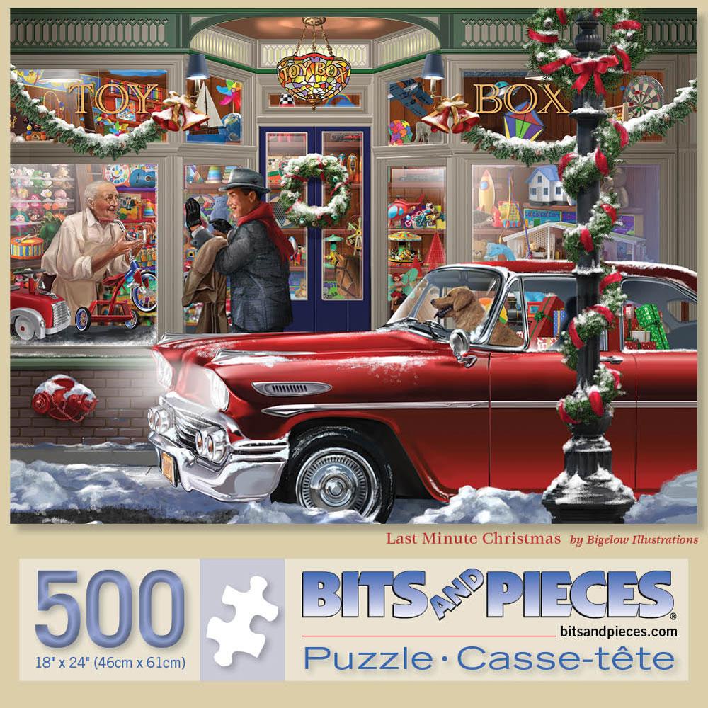Last Minute Christmas 500 Piece Jigsaw Puzzle