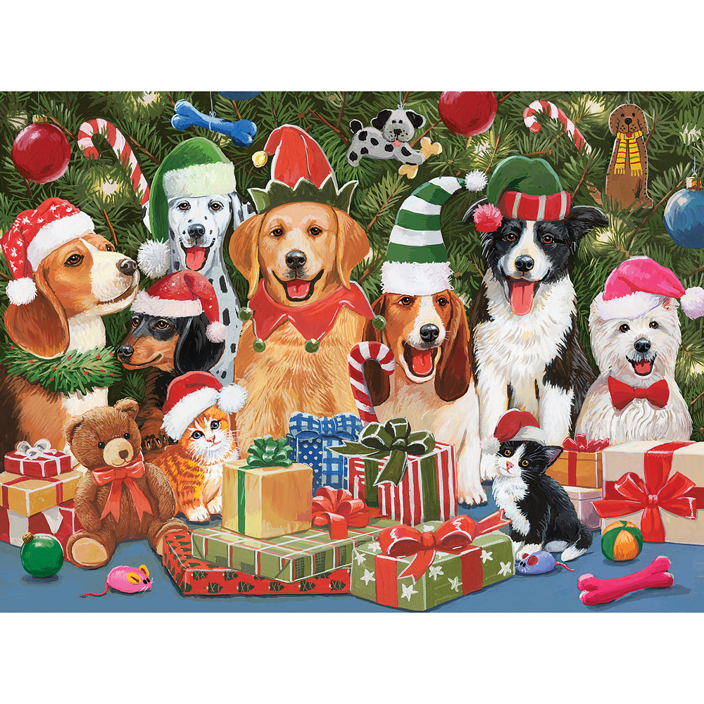 Baxter's Christmas Bash 300 Large Piece Jigsaw Puzzle