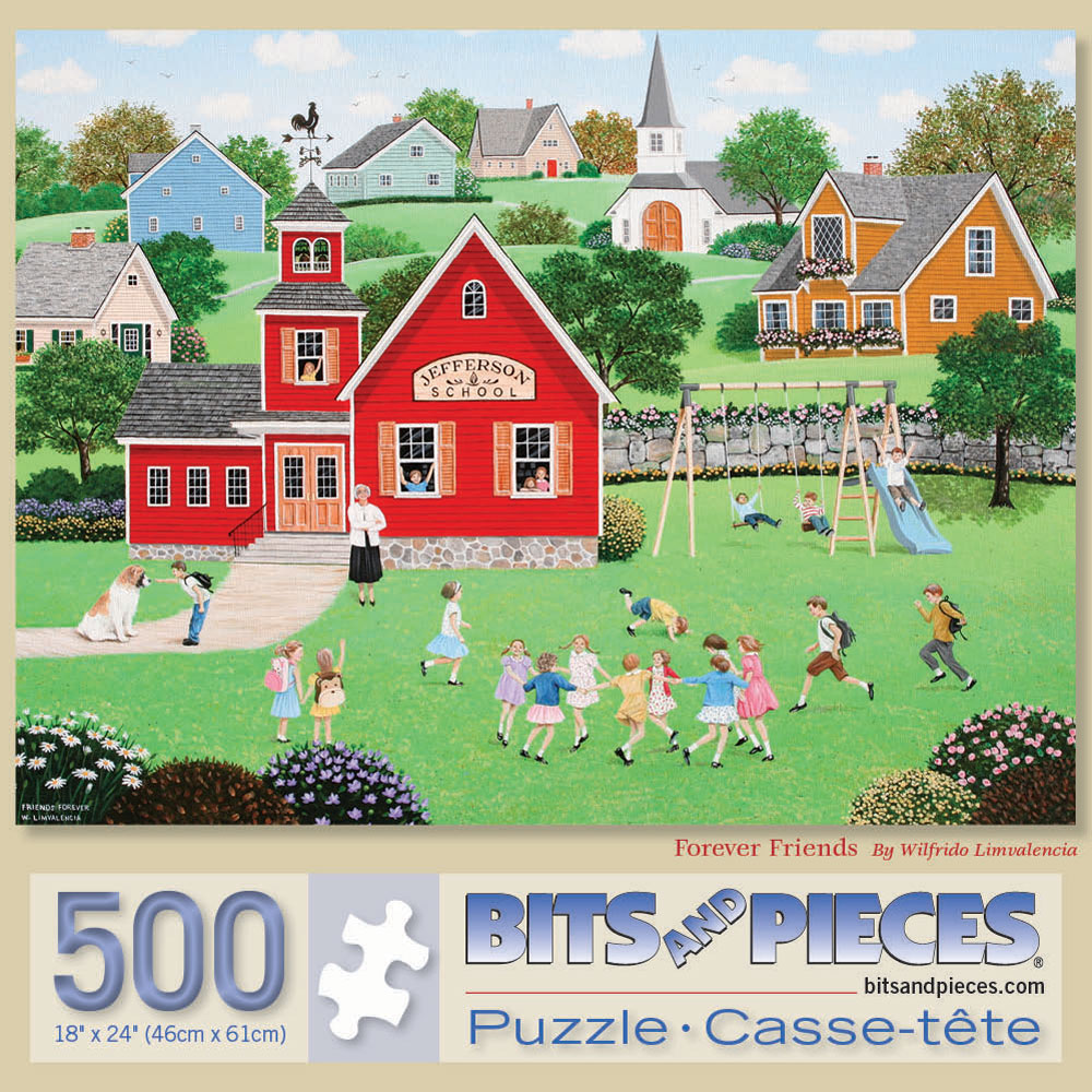 Forever Friends 500 Piece Jigsaw Puzzle