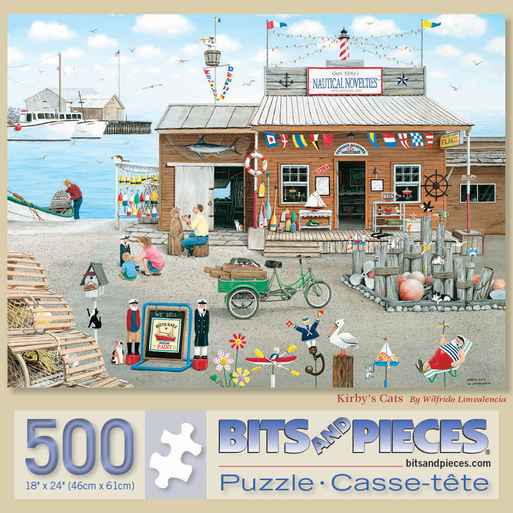 Kirby's Cat 500 Piece Jigsaw Puzzle