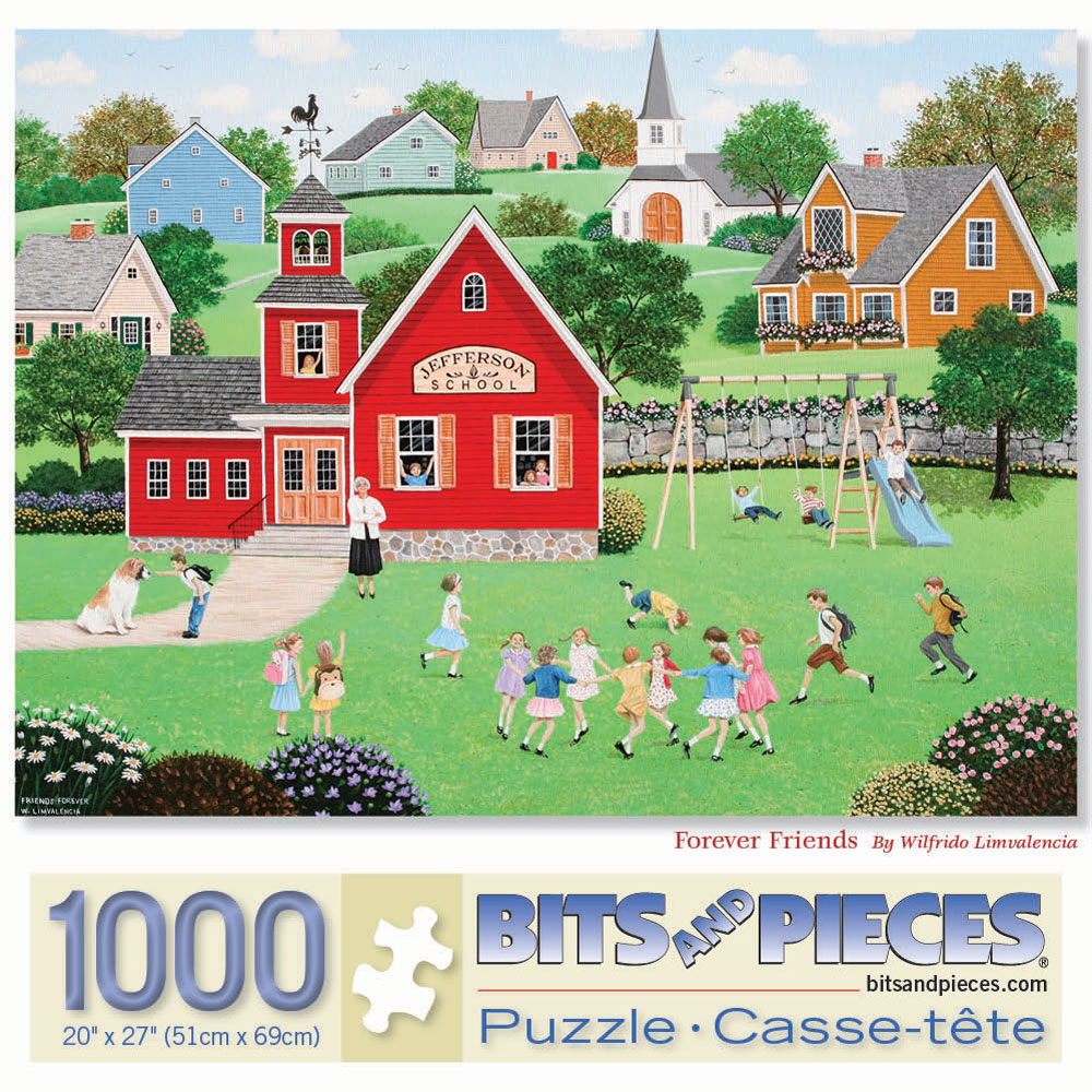 Forever Friends 1000 Piece Jigsaw Puzzle
