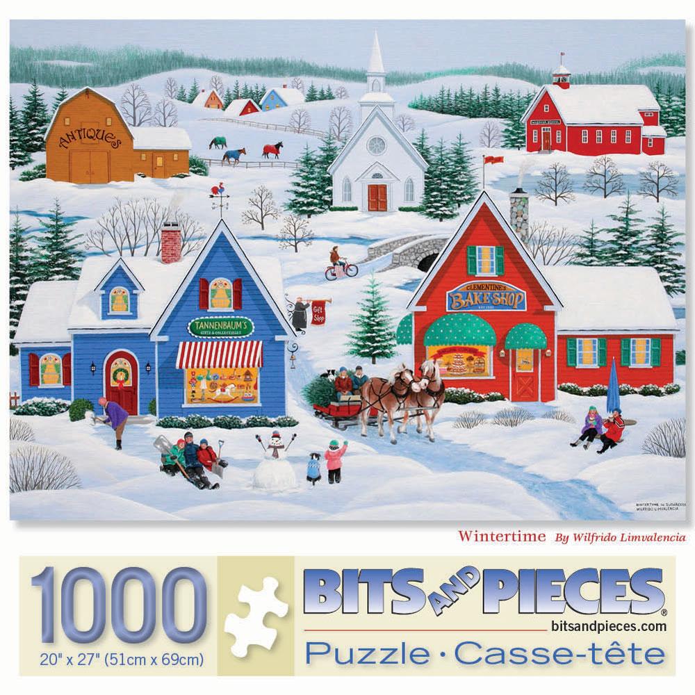 Wintertime 1000 Piece Jigsaw Puzzle