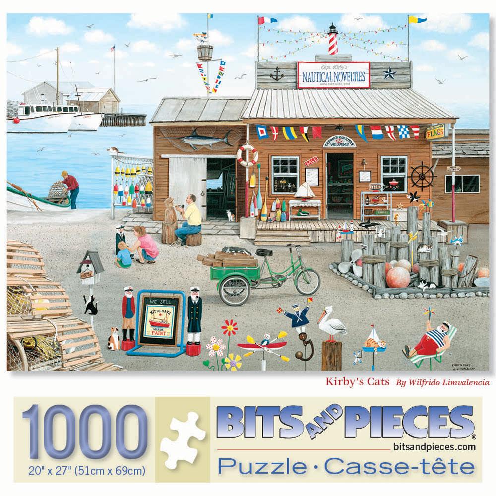 Kirby's Cat 1000 Piece Jigsaw Puzzle