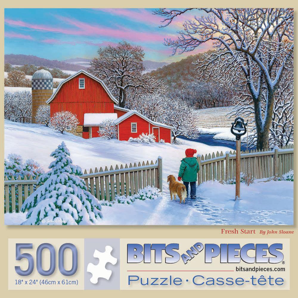 Fresh Start 500 Piece Jigsaw Puzzle
