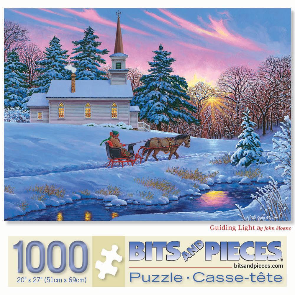 Guiding Light 1000 Piece Jigsaw Puzzle