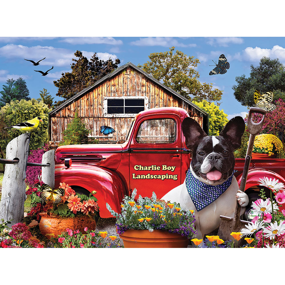 Charlie Boy Landscaping 1000 Piece Jigsaw Puzzle