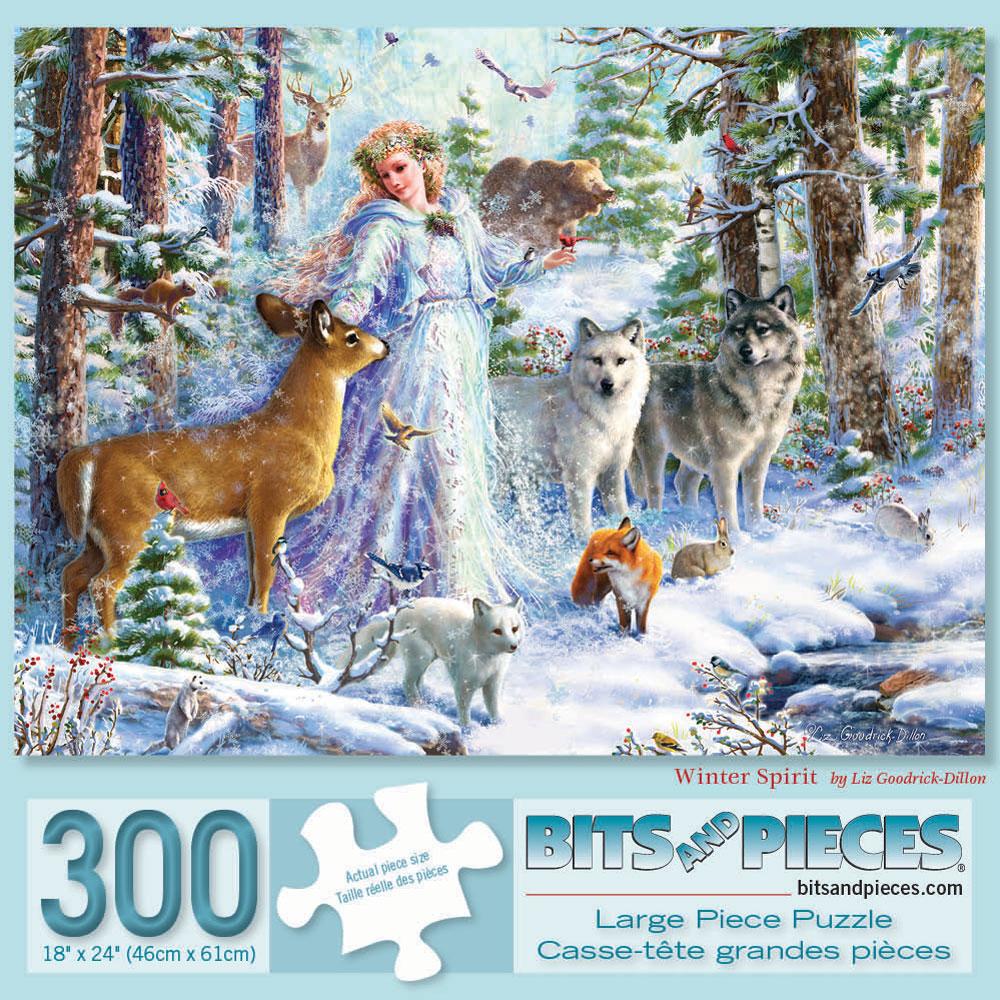 Winter Spirit 300 Large Piece Jigsaw Puzzle