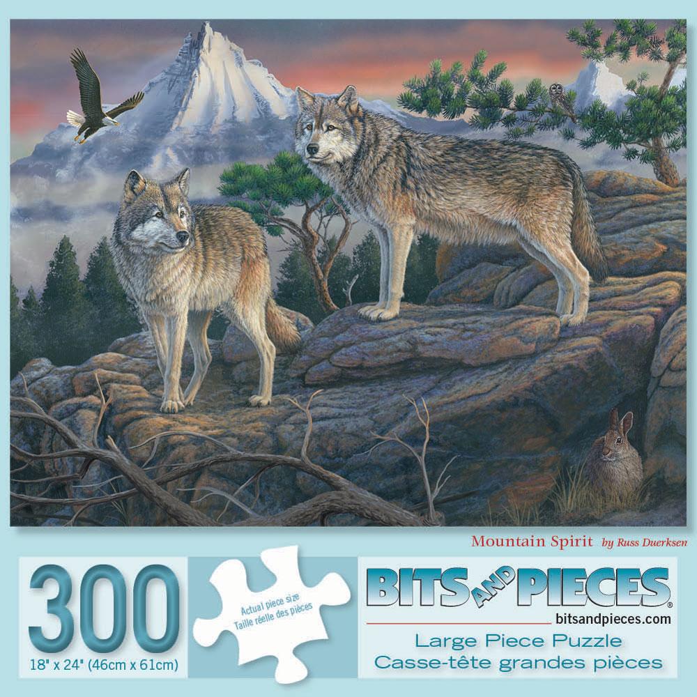 Mountain Spirit 300 Large Piece Jigsaw Puzzle