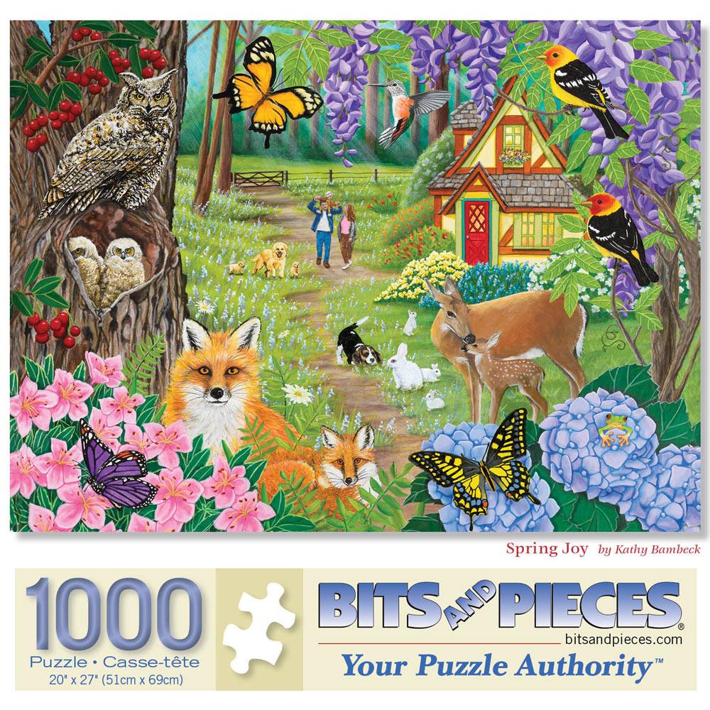 Spring Joy 1000 Piece Jigsaw Puzzle