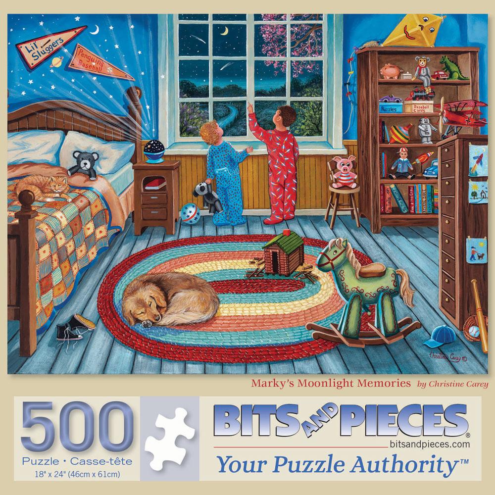 Marky's Moonlight Memories 500 Piece Jigsaw Puzzle