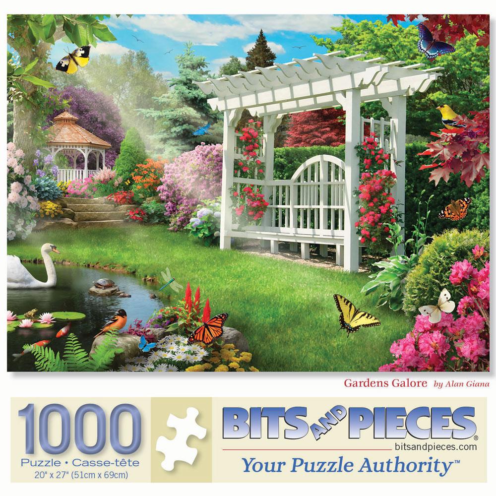 Gardens Galore 1000 Piece Jigsaw Puzzle