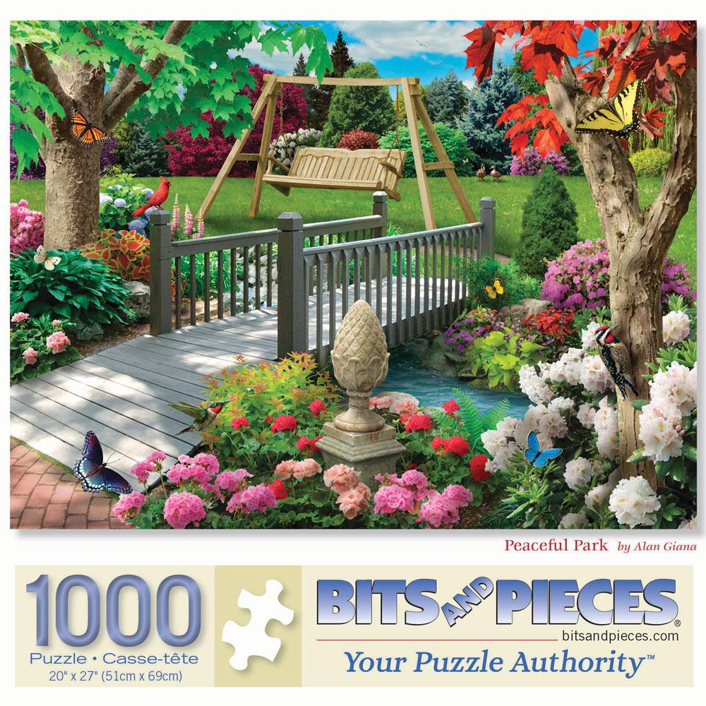 Peaceful Park 1000 Piece Jigsaw Puzzle