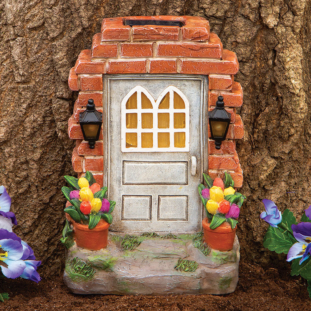 Solar Fairy Door