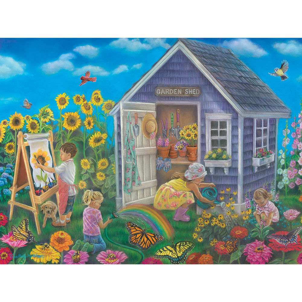 Happiness Grows Here 300 Large Piece Jigsaw Puzzle