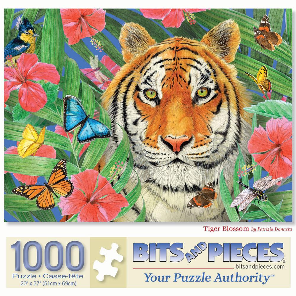 Tiger Blossom 1000 Piece Jigsaw Puzzle