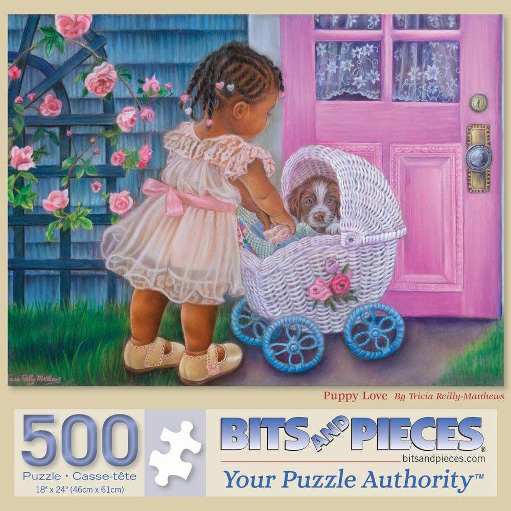 Puppy Love 500 Piece Jigsaw Puzzle