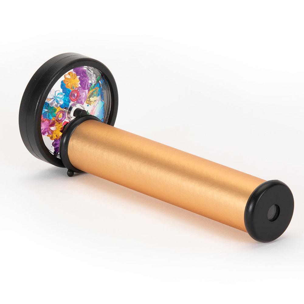 Gold Spinning Wheel Kaleidoscope