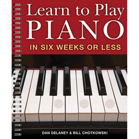 Learn to Play Piano Book