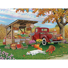 Taste Of Autumn 500 Piece Jigsaw Puzzle