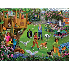 Chores on the Farm 300 Large Piece Jigsaw Puzzle