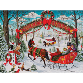 Merry Grove 1000 Piece Jigsaw Puzzle