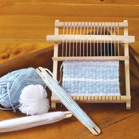 Mini Loom Weaving Kit