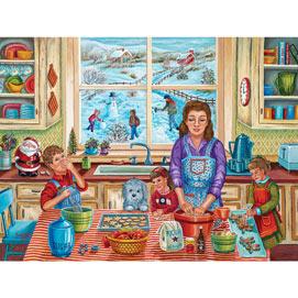 Bernadette's Christmas Cookies 500 Piece Jigsaw Puzzle