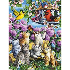 Garden Gathering 500 Piece Jigsaw Puzzle