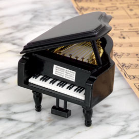 Yesterday Grand Piano Music Box