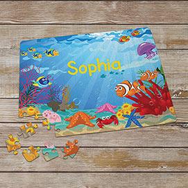 Personalized Kid's Puzzles - Underwater Adventure