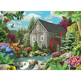 Country Mill 500 Piece Giant Jigsaw Puzzle