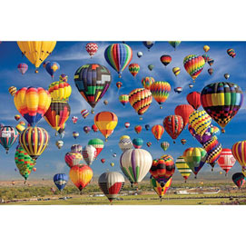 Sky Full of Balloons 2000 Piece Giant Jigsaw Puzzle
