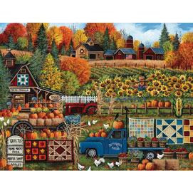 Buttermilk Farm Fall 1000 Piece Jigsaw Puzzle