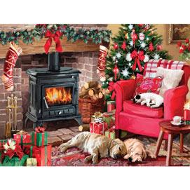 Cozy Christmas 300 Large Piece Jigsaw Puzzle