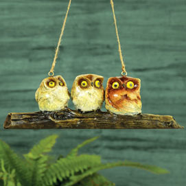 Hanging Wise Little Owls