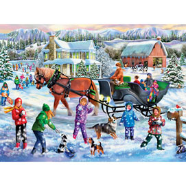 Winter Full of Wonders 500 Piece Jigsaw Puzzle