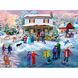 Christmas Cocoa 1000 Piece Jigsaw Puzzle