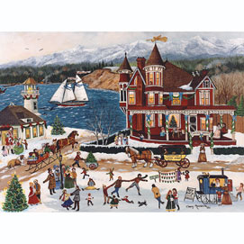 Memories of Christmas 500 Piece Jigsaw Puzzle
