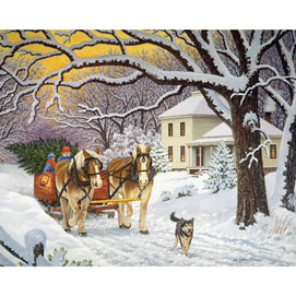 Homeward Bound 500 Piece Jigsaw Puzzle