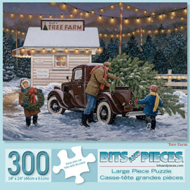 Tree Farm 300 Large Piece Jigsaw Puzzle