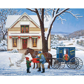 Special Delivery 300 Large Piece Jigsaw Puzzle