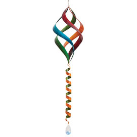 Rainbow Enameled Wind Spinner
