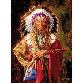 Chief of the Rosebud 1000 Piece Jigsaw Puzzle